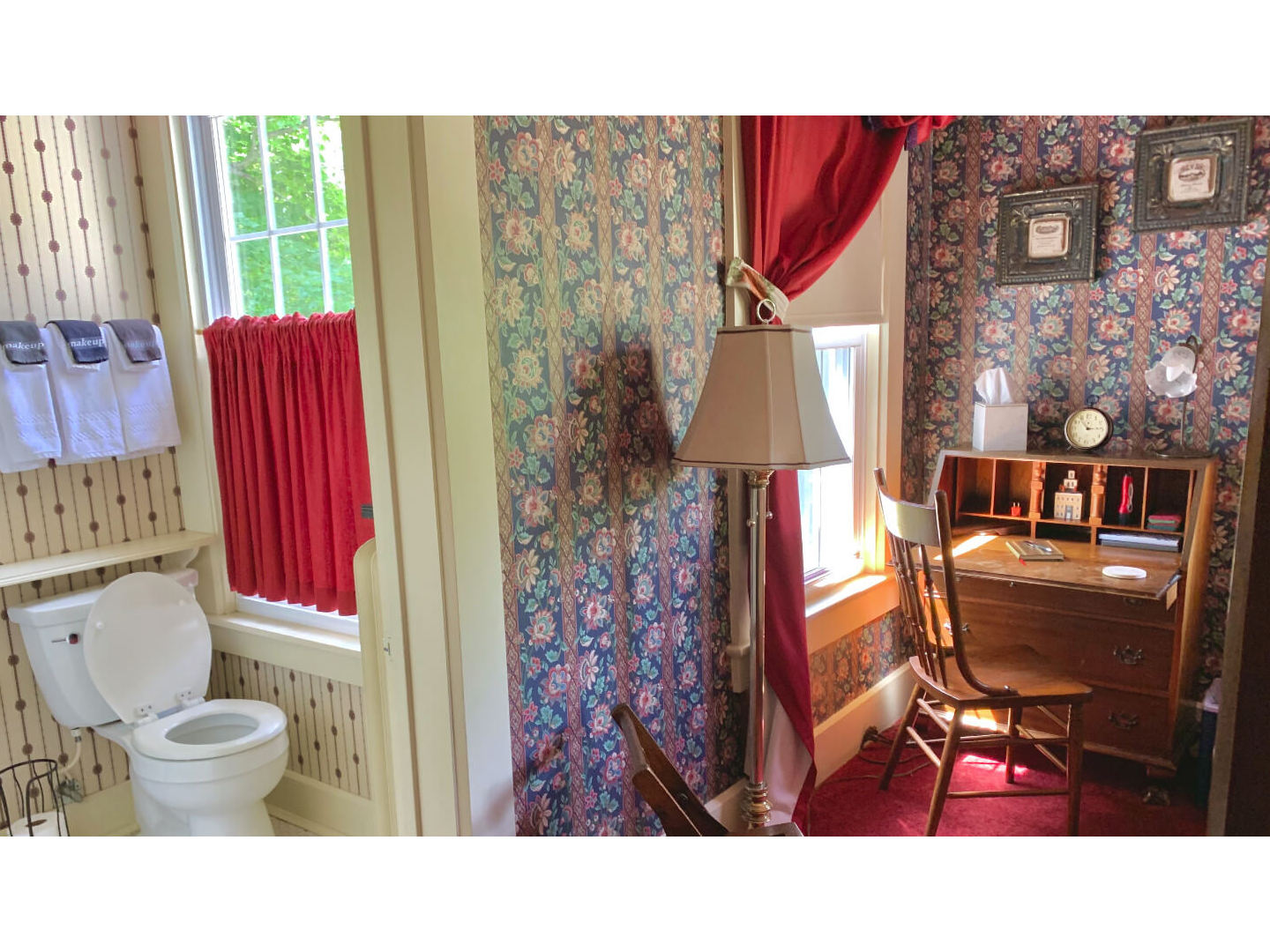 A view of a room at Chestnut Street Inn.