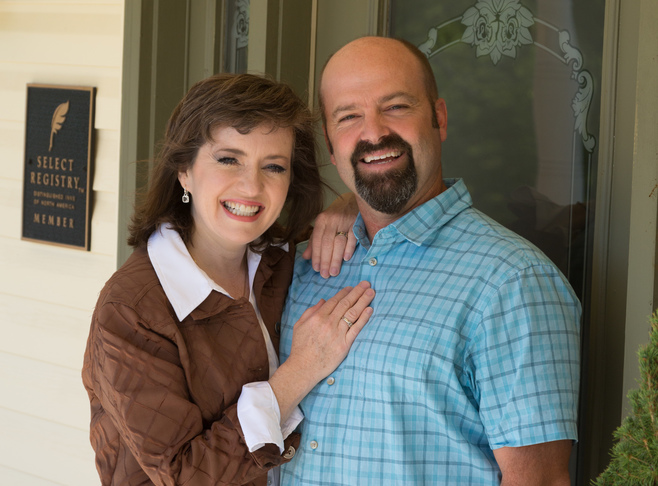 David and Jessica Pfau