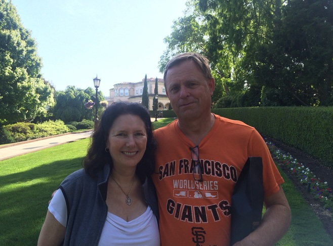 Brian Jensen and Joanna Guidotti