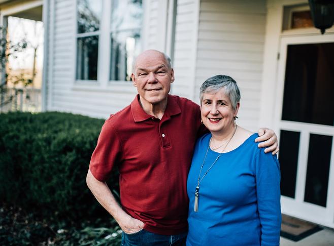 Ian and Yvonne Martin