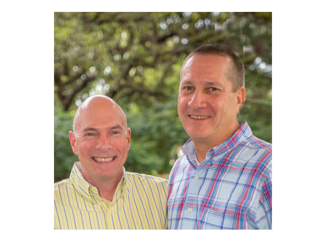 David Worthington and Eric Bigelow Innkeeper Photo