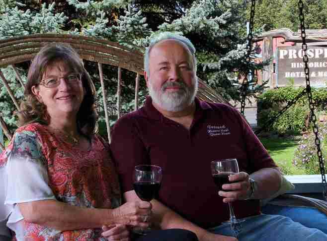 Fred & Karen Wickman Innkeeper Photo