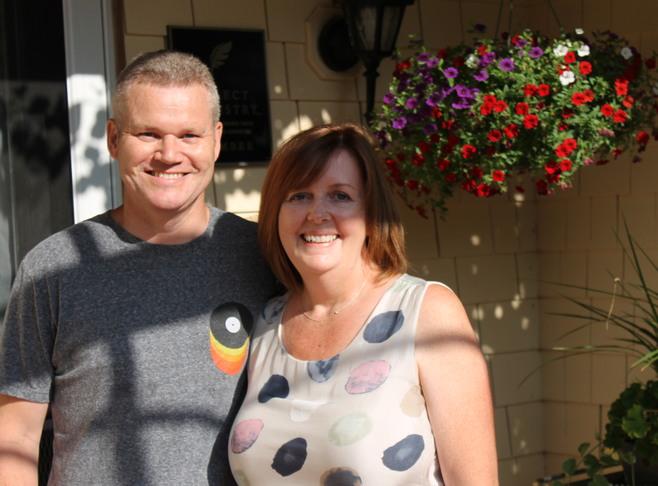 Carl and Eileen Robley Innkeeper Photo