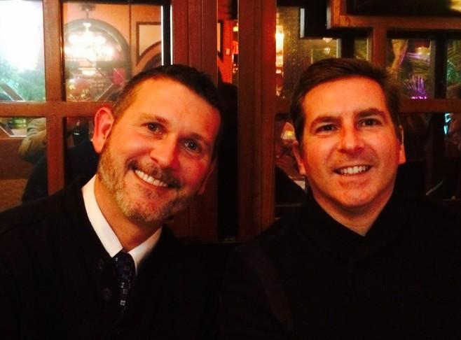 Todd Allen and Tyler Horton