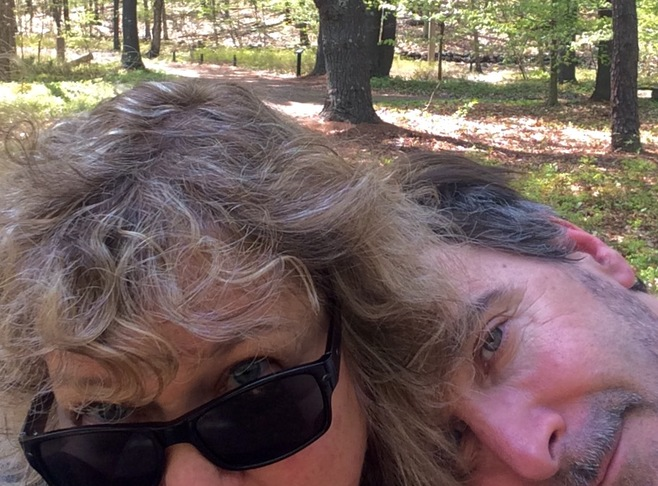 The gourmet chef/artist and his space designer wife/partner Innkeeper Photo