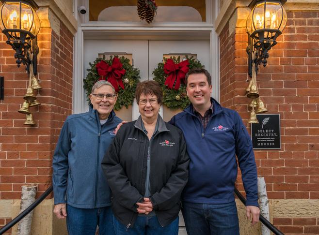 The Family Team at Jail Hill Inn Innkeeper Photo
