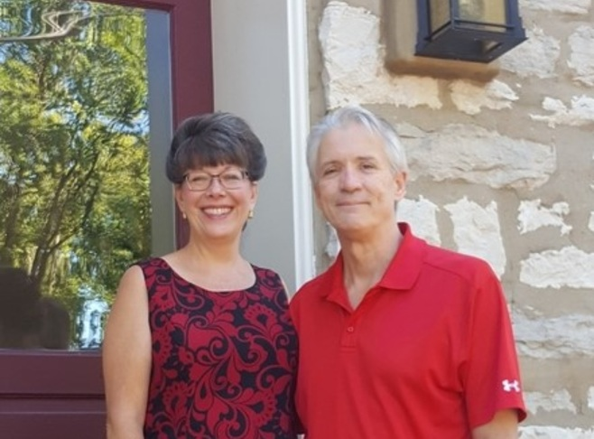Bill and Maureen