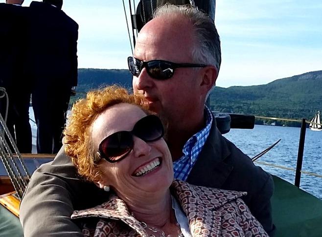 Mary Jo Brink & Chef/Owner Michael Salmon Innkeeper Photo