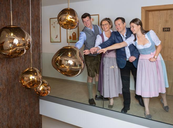 Schnoell-Reichl family Innkeeper Photo