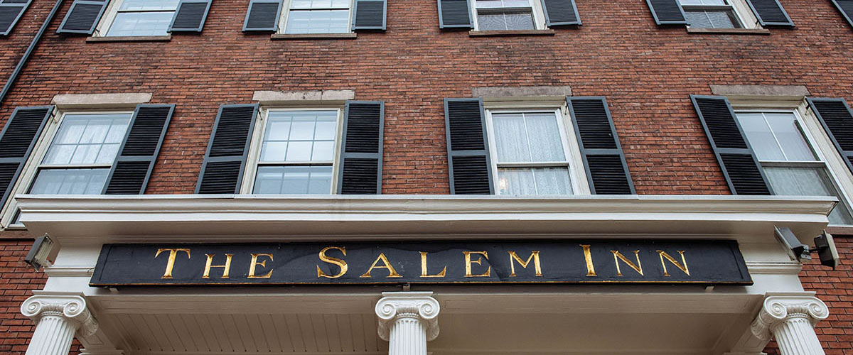 A store front at day at Salem Inn.