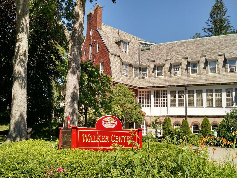 A large red brick building at Walker Center.