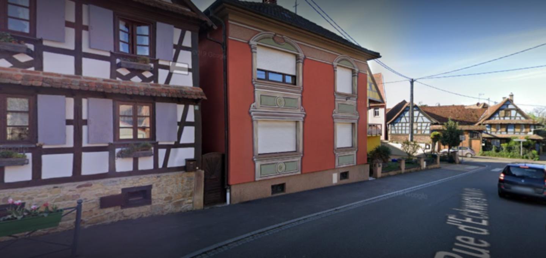 A view of a city street at Gites Polka Au Bal Paysan.