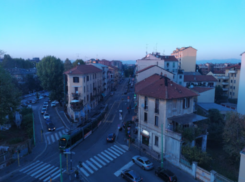 A view of a city street at B&B La Casa del Nespolo.