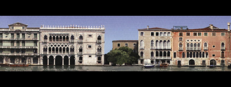 A large building at B&B Ca' Sant. Agostin.