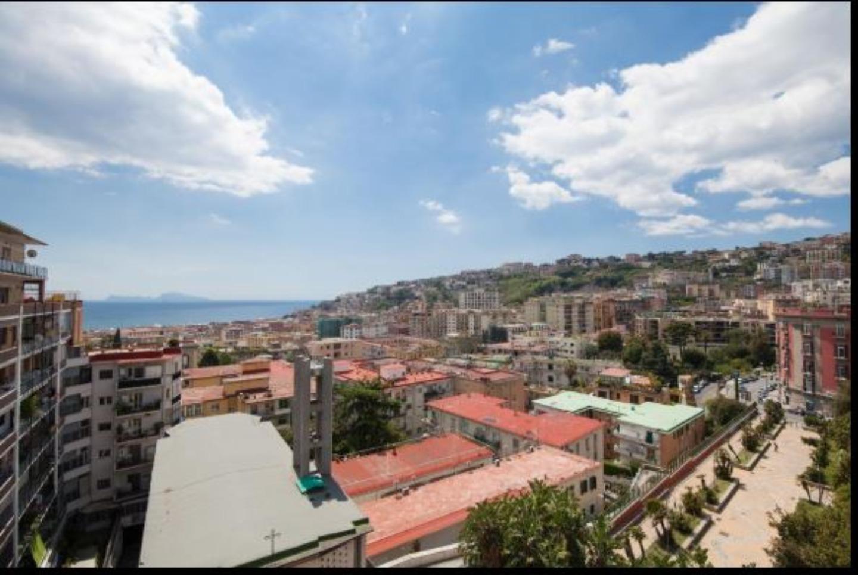 A view of a city at Casa Tonia.