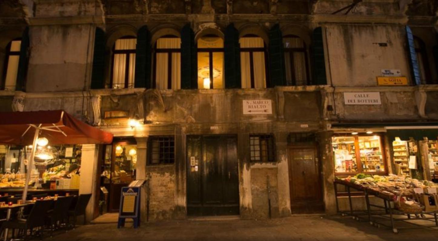 The inside of a building at La Villeggiatura.