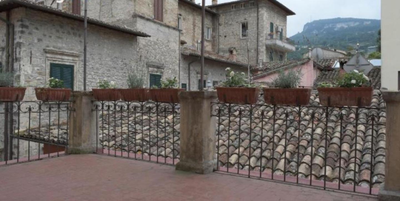 A large brick building at La Terrazza e la Luna.