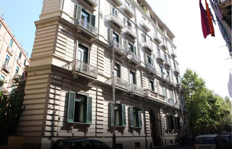 A large brick building at B&B Palazzo Scaramella.