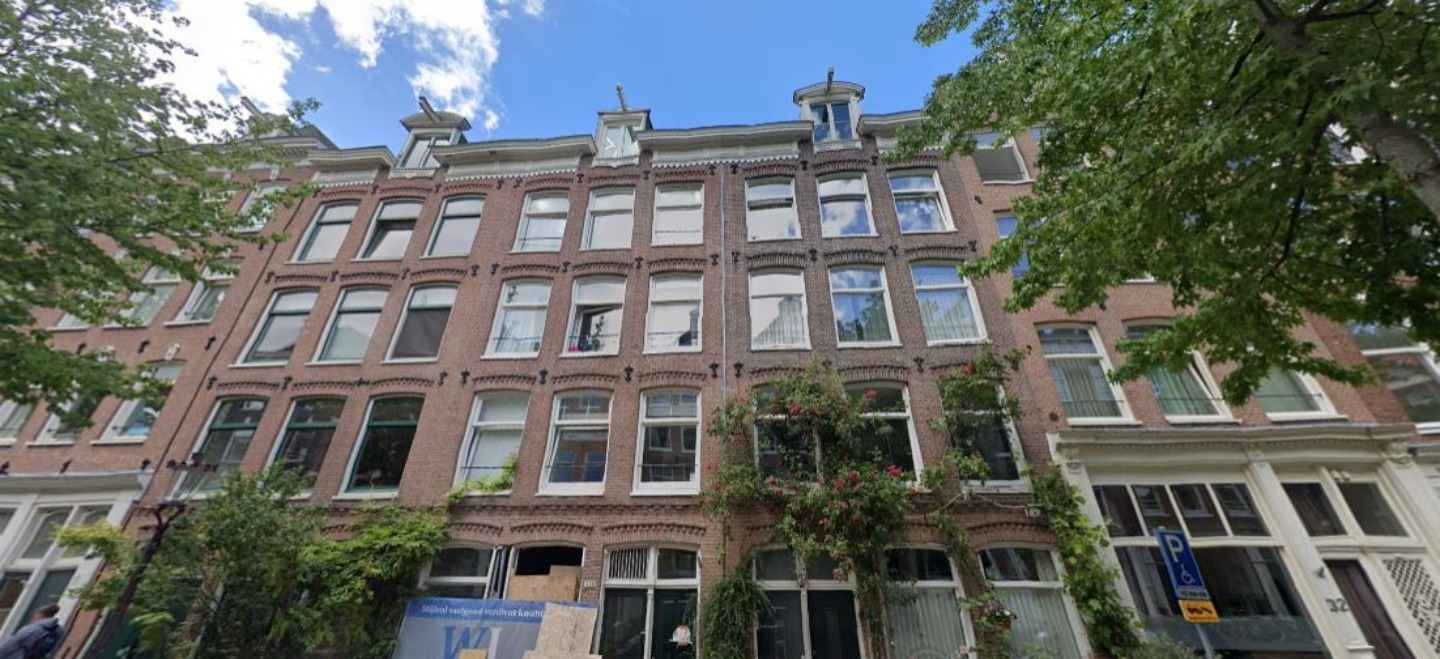 A large brick building at Sleepwell Amsterdam.