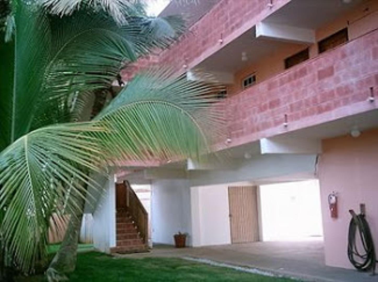 A tree in a room at Luquillo Sunrise Beach Inn.