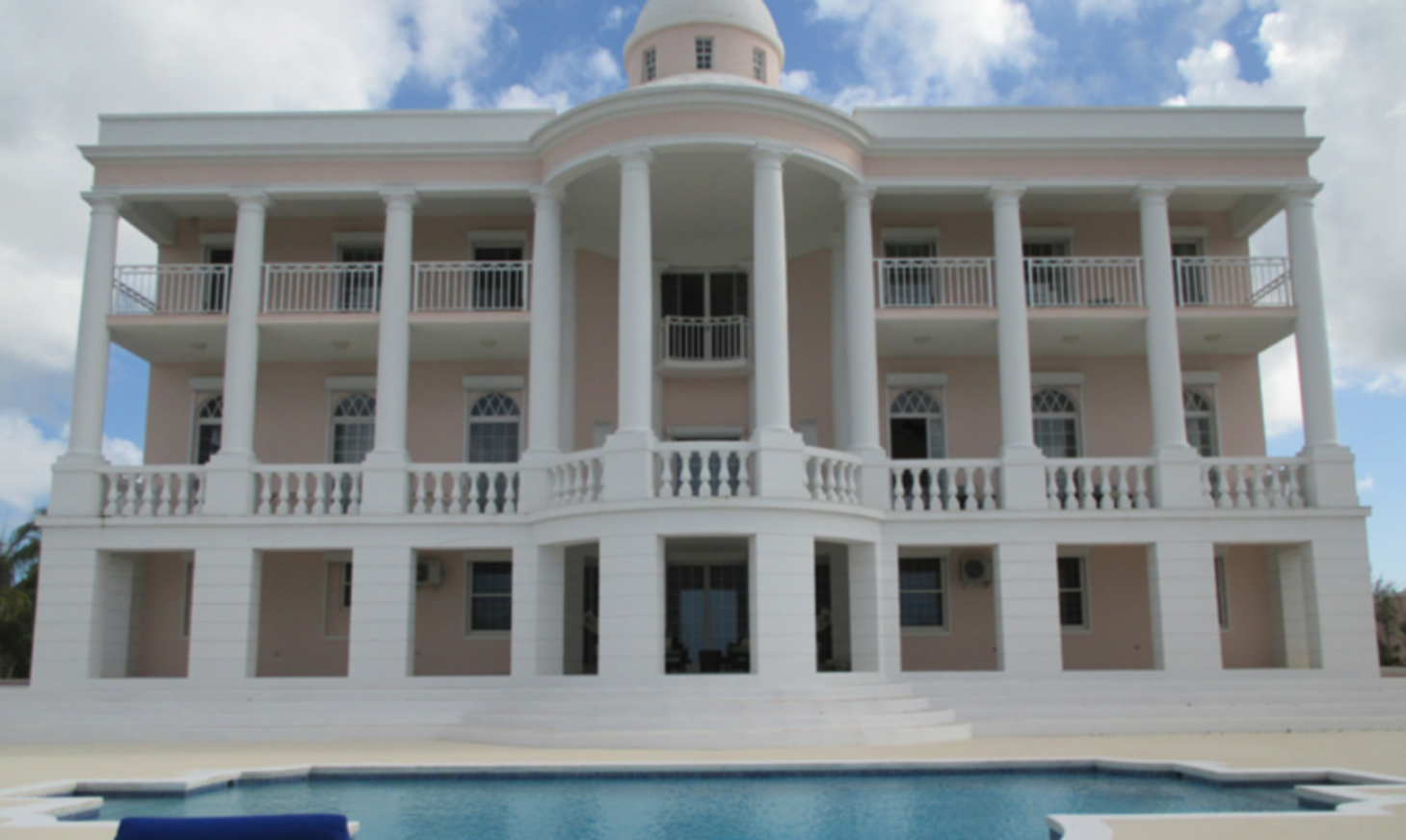 A large building at Ocean West Boutique Hotel .