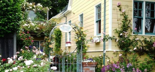 Rose Court Cottage in Serene Garden