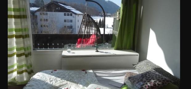 2-Zimmer am Nussensee mit Bergblick
