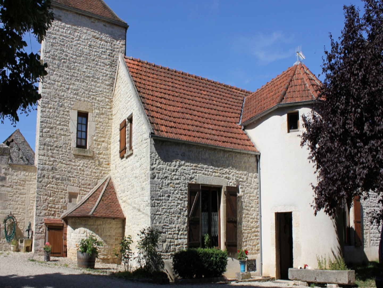 A large brick building at Le Petit Antonnay.