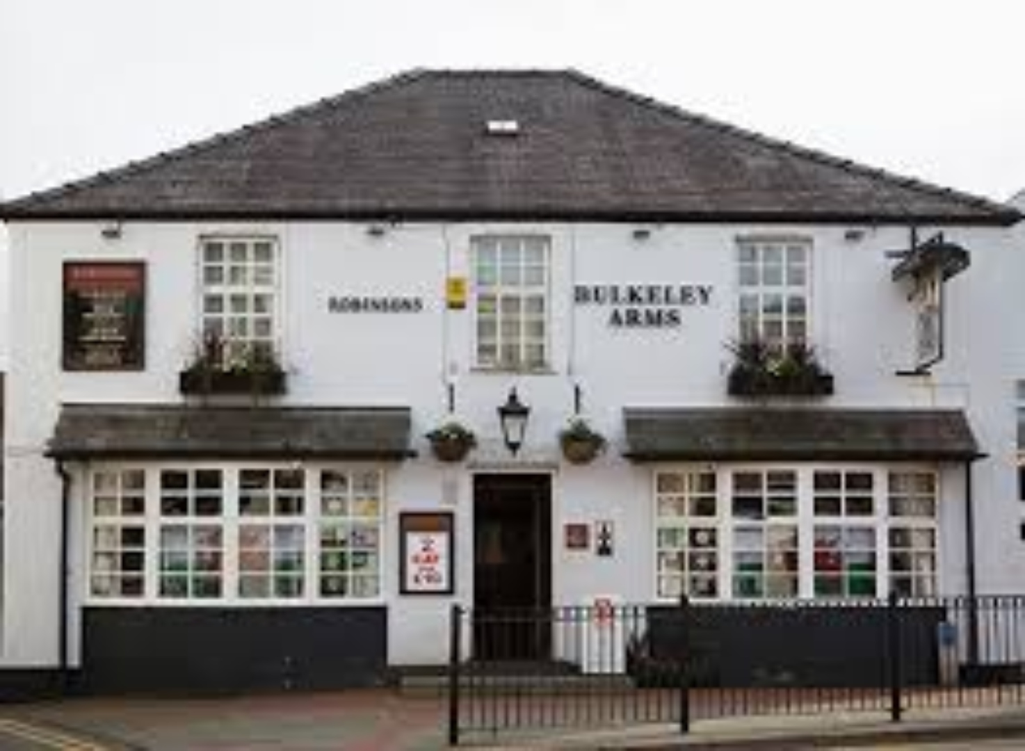 A large house at Bulkeley Arms.