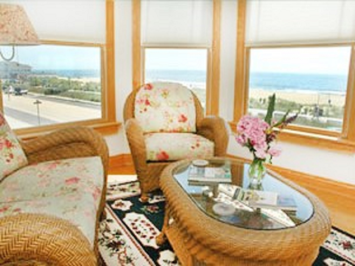 A view of a living room at 7 OCEAN AVENUE BED & BREAKFAST.