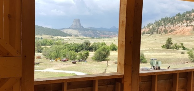 A Quiet Canyon at Devils Tower B&B
